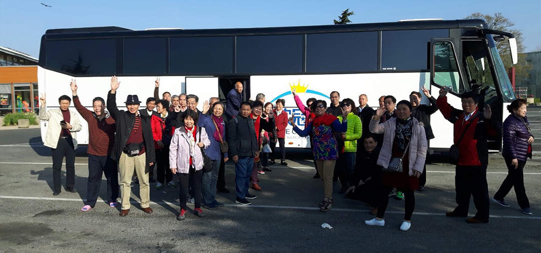 success travel - buses - coaches - chinese groups - europe